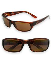 Maui Jim - 'stingray - Polarizedplus2' 56mm Sunglasses - Lyst