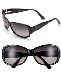 Maui Jim | Nalani 61mm Polarizedplus2 Sunglasses - Gloss Black | Lyst