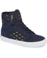 Supra - 'skytop' High Top Sneaker - Lyst
