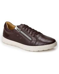 Sandro Moscoloni | Cassius Side Zip Sneaker | Lyst