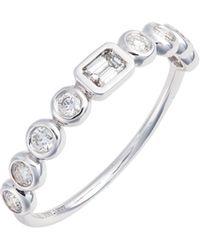 Bony Levy - Monaco Diamond Stack Ring (nordstrom Exclusive) - Lyst