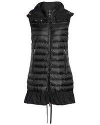 Moncler | Quilted Peplum Vest | Lyst