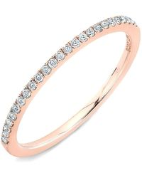 Bony Levy - Stackable Straight Diamond Band Ring (nordstrom Exclusive) - Lyst