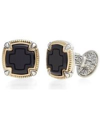Konstantino - Ares Square Cuff Links - Lyst