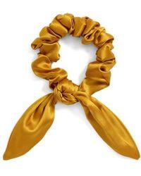 Donni Charm - Chiquita Silk Scrunchie - Lyst