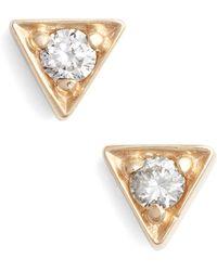 Anzie - Aztec Cleo Stud Earrings - Lyst