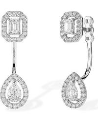 Messika - My Twin Diamond Ear Jackets - Lyst
