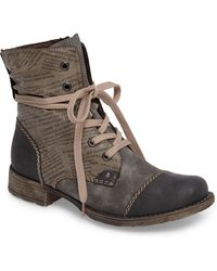 top quality best cheap best Lyst - Rieker Antistress Payton 22 Lace-up Boot in Brown