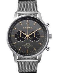 Triwa - Nevil Chronograph Mesh Strap Watch - Lyst