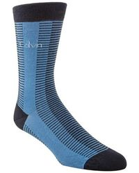 CALVIN KLEIN 205W39NYC - Giza Stripe Socks - Lyst