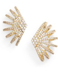 Melinda Maria - Cubic Zirconia Earrings - Lyst