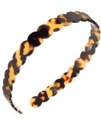 France Luxe - Scallop Headband - Lyst