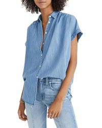 Madewell - Central Chambray Shirt - Lyst