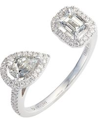 Messika - My Twin Diamond Ring - Lyst