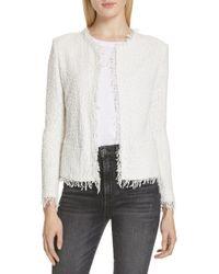 IRO - Shavani Tweed Jacket - Lyst