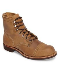 Red Wing - Iron Ranger Cap Toe Boot - Lyst