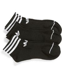 adidas - Originals 3-pack Ankle Socks - Lyst