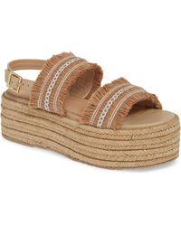 4c11b4a1d56 Lyst - Carvela Kurt Geiger Goa Silver Embellished Heeled Sandals in ...