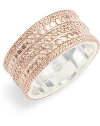 Anna Beck - Cigar Band Ring - Lyst