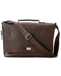 Shinola - Leather Messenger Bag - Lyst