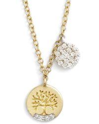 Meira T - Meirat 'tree Of Life' Diamond Pendant Necklace - Lyst