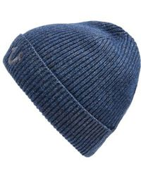 True Religion | Rib Knit Cap | Lyst