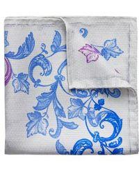Eton of Sweden - Koi Silk Pocket Square - Lyst