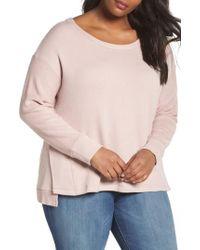 Caslon - Caslon Relaxed Sweatshirt - Lyst