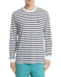 Carhartt WIP - Stripe Long Sleeve T-shirt - Lyst