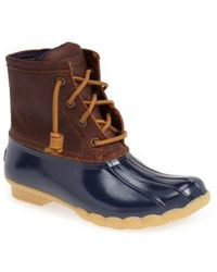 Sperry Top-Sider - 'saltwater' Duck Boot - Lyst