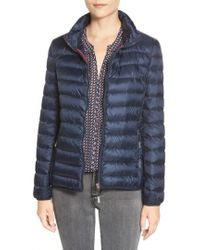 Tumi | 'pax On The Go' Packable Quilted Jacket, Blue | Lyst