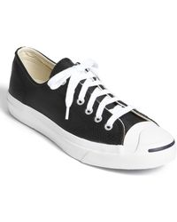 cbad3fc973eae7 Lyst - Converse Jack Purcell Leather Sneaker Men in Black for Men