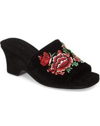 Opening Ceremony - Sally Embroidered Slide Sandal - Lyst