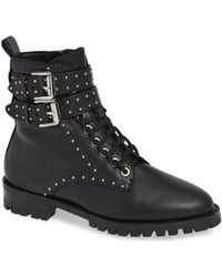 Rebecca Minkoff - Women's Jaiden Studded Booties - Lyst