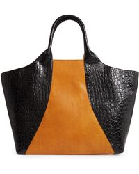 Dries Van Noten - Embossed Leather Tote - - Lyst