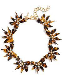 Lele Sadoughi - Daffodil Collar Necklace - Lyst