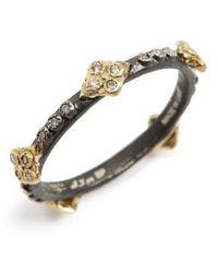 Armenta | Old World Crivelli Diamond Stack Ring | Lyst