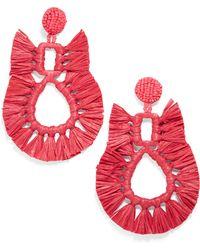 BaubleBar - Celia Fringe Earrings - Lyst