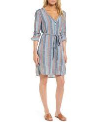 AG Jeans - Anna Henley Dress - Lyst