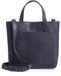 Madewell - Small Transport Leather Crossbody - Lyst