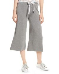 Stateside - Flare Fleece Pants - Lyst