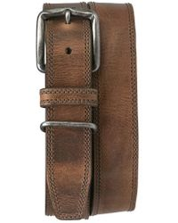 Trask - 'summit' American Steer Leather Belt - Lyst