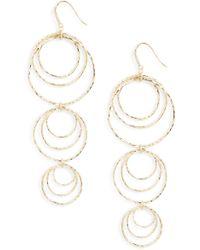 Melinda Maria - Bey Chandelier Earrings - Lyst