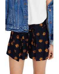 Madewell - Daisy Pull-on Tie Shorts - Lyst