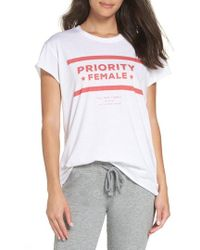 The Laundry Room - Priority Female Tee - Lyst