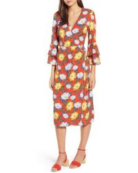 The Fifth Label - Reunion Floral Wrap Dress - Lyst