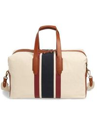 J.Crew - Oar Stripe Canvas Weekend Bag - Lyst