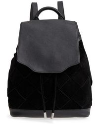 Rag & Bone - Pilot Suede & Leather Backpack - Lyst