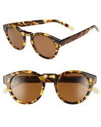 b68f6d7dee6 Raen - Parkhurst 49mm Sunglasses - Tokyo Tortoise  Brown - Lyst