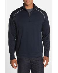Cutter & Buck - 'ridge' Weathertec Wind & Water Resistant Pullover - Lyst